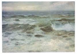 Развълнувано море