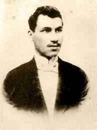 Александър Кръстев като студент в Загреб през 1901 г.