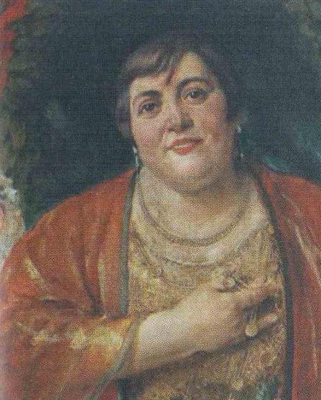 Портрет на Морфова - худ. Мърквичка