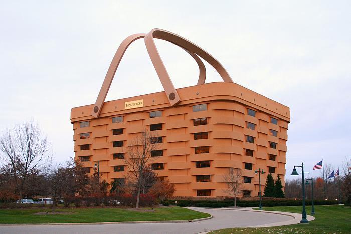 The Basket Building, Ohio, United States