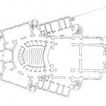 Разпределение на партера преди реконструкцията