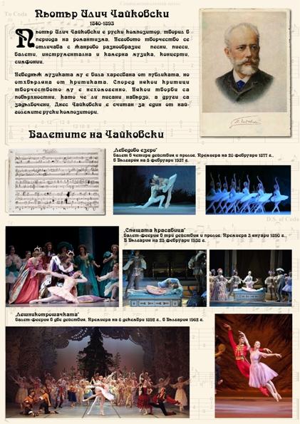 Балетите на Чайковски