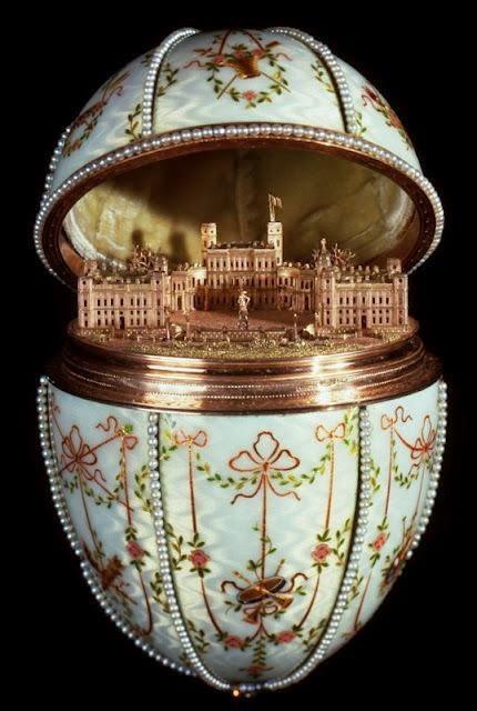 Императорското яйце Гатчински Дворец
