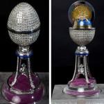 Яйце на Фаберже с над 1000 диаманта