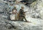 Никола Петров рисува