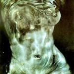 Sfumato, обгорена и опушена със свещ хартия - 1972