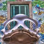 Casa Batlló, Антонио Гауди, детайл