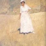 Портрет на Елисавета Консулова-Вазова, 1917