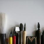 Съвременни материали за калиграфия