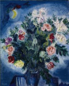 """Марк Шагал, """"Букет с цветя"""""""
