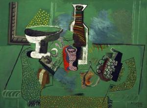 """Пабло Пикасо, """"Зелен натюрморт"""""""