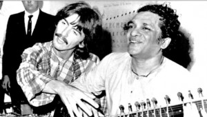 Shankar with Harrison 1967
