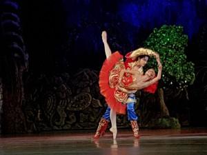 Сцена от балета на Софийска опера