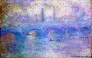 """Клод Моне, """"Мостът Ватерло"""""""