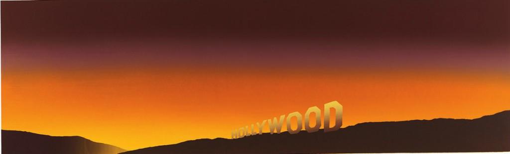 """Едуард Руша, """"Холивуд"""". Сериграфия, 100 отпечатъка, частна собственост"""