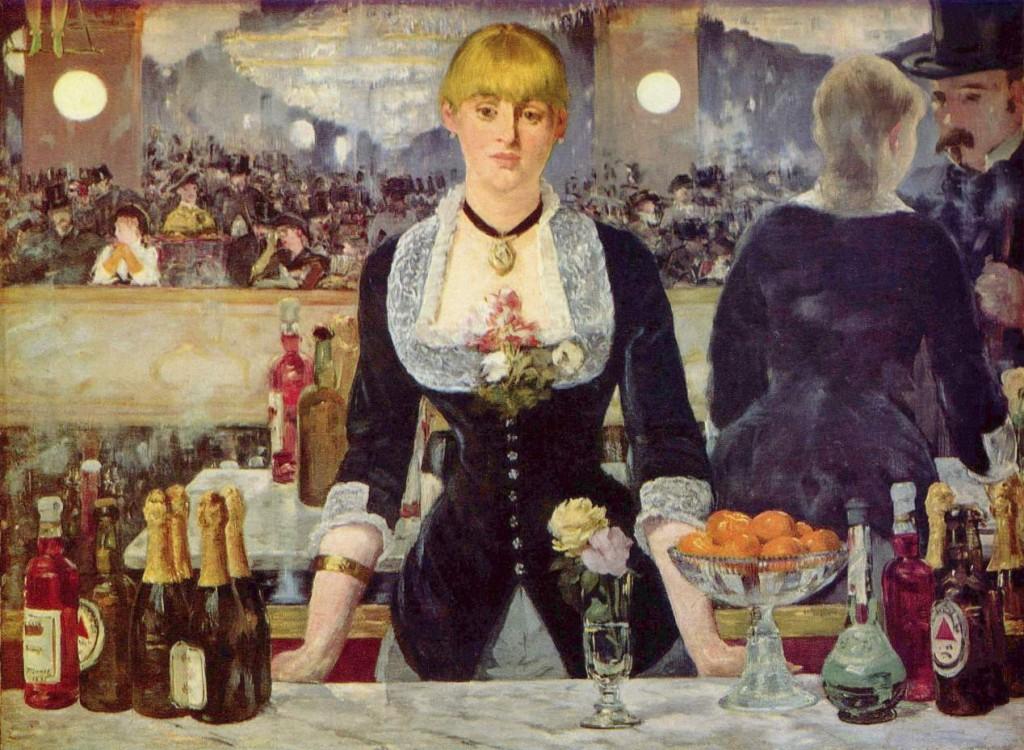 """""""Бар Фоли Бержер"""", Едуар Мане, 1882 г."""