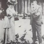 Димитър и Райна Карастоянови (Венеция, 1910 г.)