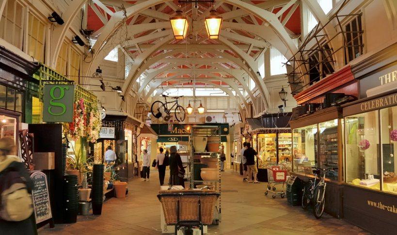 Покритият пазар в Оксфорд