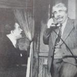 Н. Попов в ролята на Големанов. Театър Варна