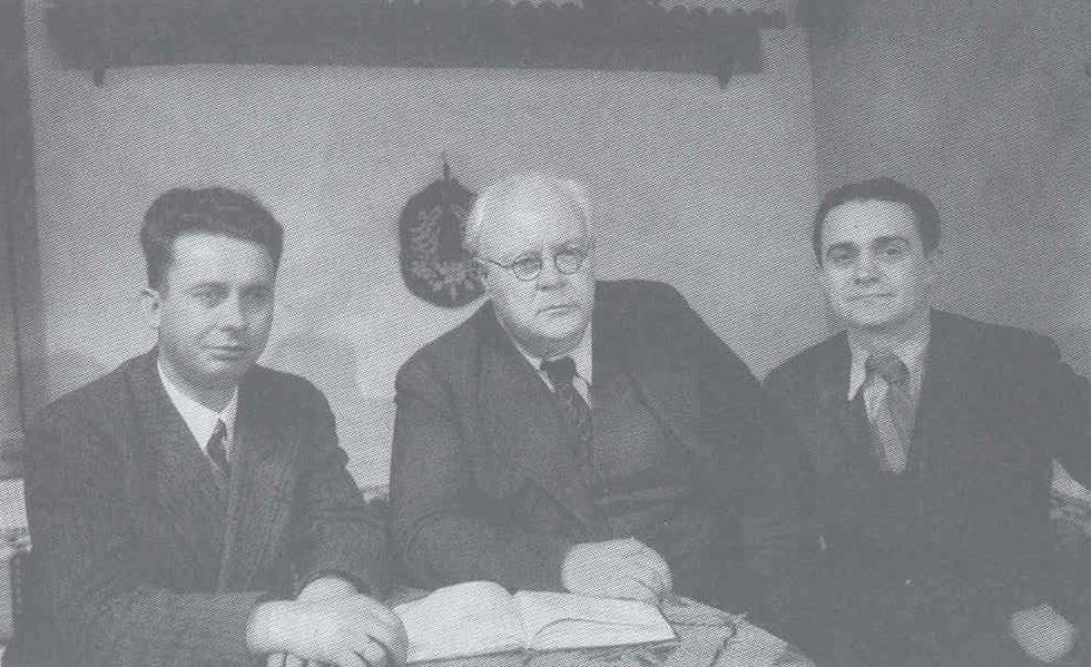 С Борис Борозанов и Пенчо Георгиев