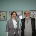Изкуство в библиотеката с Ирена Димитрова