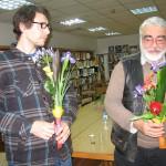 Изкуство в библиотеката с Петър Минчев