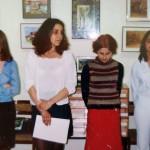 Откриване на изложбата на Христина Ефтимова, Светлана Янева и Радостина Пеева - 2002 г.